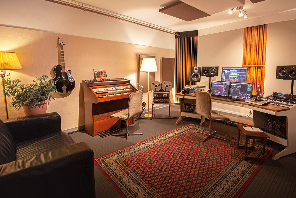 Control Room A at Klangkantine Studios